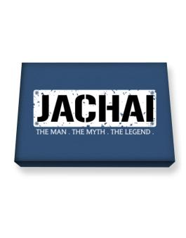 Jachai : The Man - The Myth - The Legend Canvas square