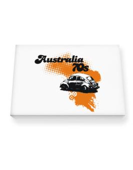 Australia 70s Canvas square