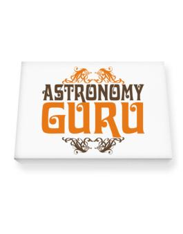 Astronomy Guru Canvas square