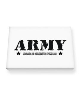 Army Jerusalem And Middle Eastern Episcopalian Canvas square
