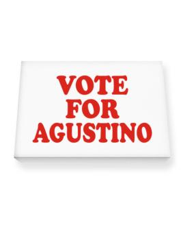 Vote For Agustino Canvas square