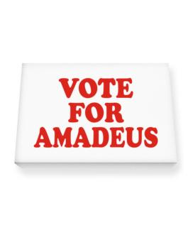 Vote For Amadeus Canvas square