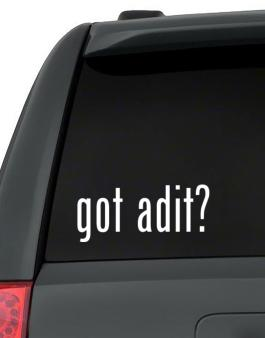 Got Adit? Decal Pack
