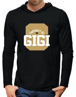 Property Of Gigi Hooded Long Sleeve T-Shirt-Mens