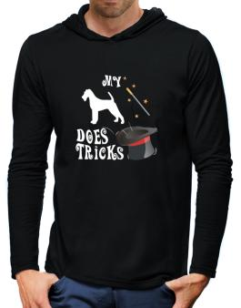 My Irish Terrier Does Tricks ! Hooded Long Sleeve T-Shirt-Mens