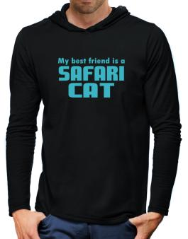 My Best Friend Is A Safari Hooded Long Sleeve T-Shirt-Mens
