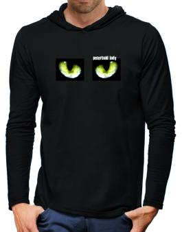 Peterbald Lady Hooded Long Sleeve T-Shirt-Mens