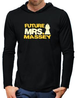 Future Mrs. Massey Hooded Long Sleeve T-Shirt-Mens