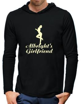 Albrights Girlfriend Hooded Long Sleeve T-Shirt-Mens