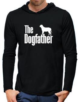 The dogfather Broholmer Hooded Long Sleeve T-Shirt-Mens
