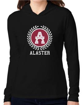 Alaster - Laurel Hooded Long Sleeve T-Shirt Women