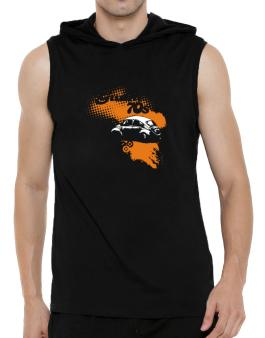 Guam 70s Hooded Sleeveless T-Shirt - Mens
