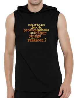 Cactus Jack Produces Amnesia And Other Things I Dont Remember ..? Hooded Sleeveless T-Shirt - Mens