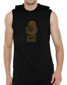 All The Rumors Are True , Im Relaxed Hooded Sleeveless T-Shirt - Mens