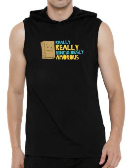 Really Really Ridiculously Amorous Hooded Sleeveless T-Shirt - Mens