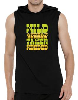 Wild Andean Condor Tamer Needed Hooded Sleeveless T-Shirt - Mens