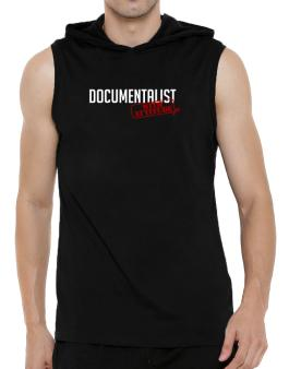 Documentalist With Attitude Hooded Sleeveless T-Shirt - Mens