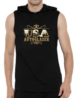 Usa Autoglazer Hooded Sleeveless T-Shirt - Mens