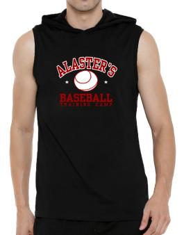 Alasters Baseball Training Camp Hooded Sleeveless T-Shirt - Mens
