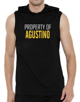 Property Of Agustino Hooded Sleeveless T-Shirt - Mens