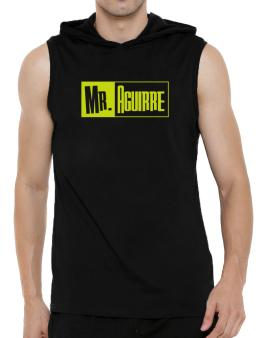 Mr. Aguirre Hooded Sleeveless T-Shirt - Mens