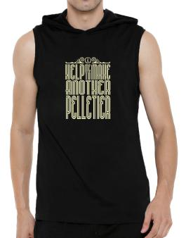 Help Me To Make Another Pelletier Hooded Sleeveless T-Shirt - Mens