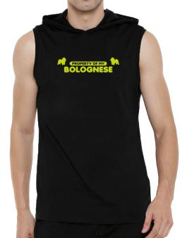Property Of My Bolognese Hooded Sleeveless T-Shirt - Mens