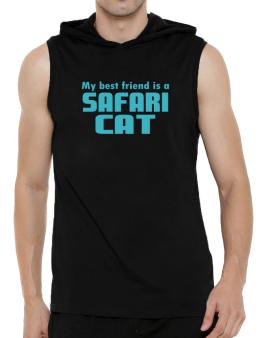 My Best Friend Is A Safari Hooded Sleeveless T-Shirt - Mens