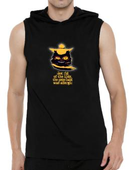 Got Rid Of The Kids, The Peterbald Was Allergic Hooded Sleeveless T-Shirt - Mens