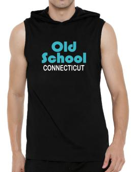 Old School Connecticut Hooded Sleeveless T-Shirt - Mens