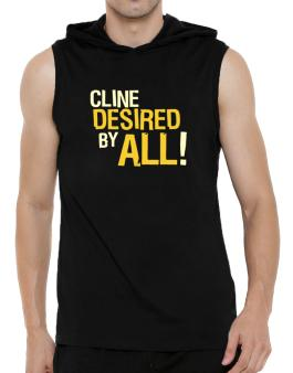 Cline Desired By All! Hooded Sleeveless T-Shirt - Mens