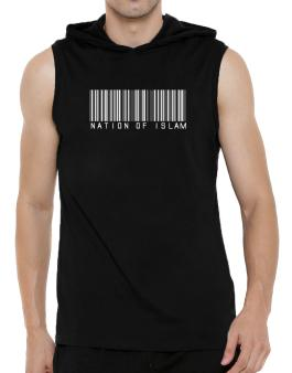 Nation Of Islam - Barcode Hooded Sleeveless T-Shirt - Mens