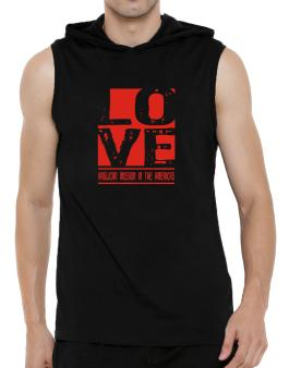 Love Anglican Mission In The Americas Hooded Sleeveless T-Shirt - Mens