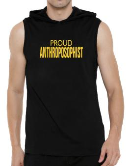 Proud Anthroposophist Hooded Sleeveless T-Shirt - Mens