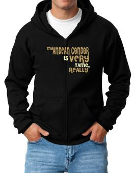 My Andean Condor Is Very Tame, Really Zip Hoodie - Mens