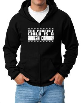 The Perfect Child Is An Andean Condor Zip Hoodie - Mens