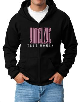 Yinnelzye True Woman Zip Hoodie - Mens