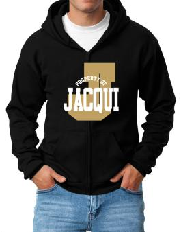 Property Of Jacqui Zip Hoodie - Mens
