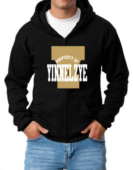 Property Of Yinnelzye Zip Hoodie - Mens