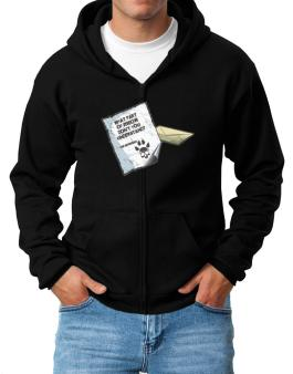 What Part Of Meow Dont You Understand? - Peterbald Letter Zip Hoodie - Mens