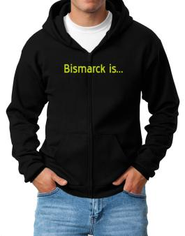 Bismarck Is Zip Hoodie - Mens