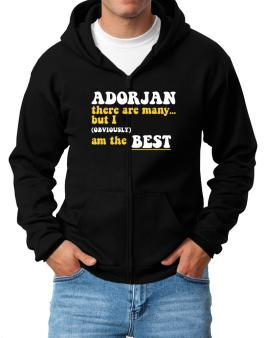 Adorjan There Are Many... But I (obviously) Am The Best Zip Hoodie - Mens
