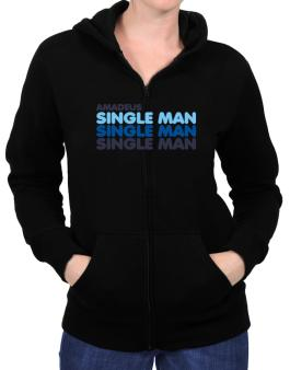 Amadeus Single Man Zip Hoodie - Womens