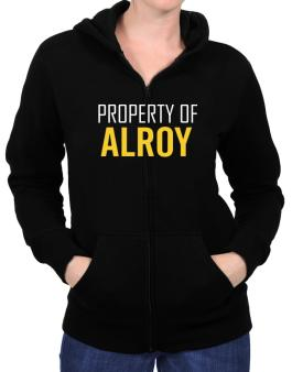 Property Of Alroy Zip Hoodie - Womens