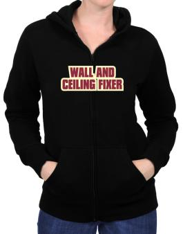Wall And Ceiling Fixer Zip Hoodie - Womens