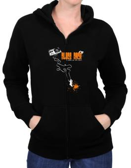 Blues Rock It Makes Me Feel Alive ! Zip Hoodie - Womens