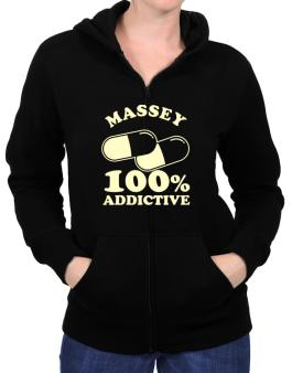 Massey 100% Addictive Zip Hoodie - Womens