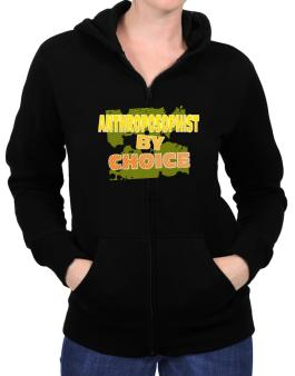 Anthroposophist By Choice Zip Hoodie - Womens