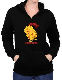 Proud Parent Of An Labradoodle Zip Hoodie - Womens