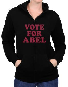 Vote For Abel Zip Hoodie - Womens